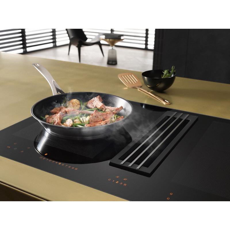 KMDA 7633 FL Индукционен готварски плот с вграден аспиратор