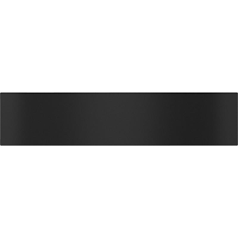ESW 7010 Gourmet Obsidian Black подгряващо чекмедже без дръжка, височина 14 cm