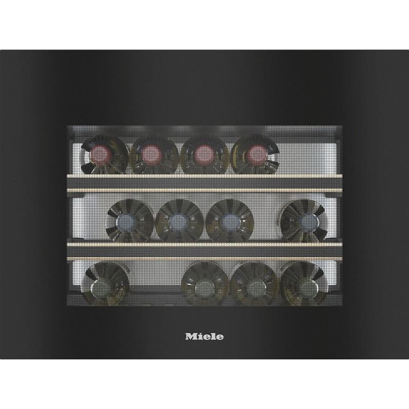 Винен охладител Miele KWT 7112 iG Obsidian Black